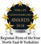 Conveyancing awards winner regional firm of the year north east & yorkshire award